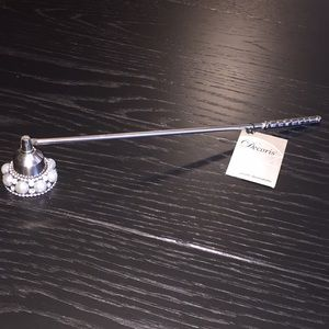 Other - NWT Crystal Jewel Pearl Candle Snuffer Yankee